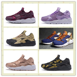 Wholesale Elephant Print Laces - Air Huarache Ultra Run Br Shoes Cheap Men Women Atmos Elephant Print Huaraches Trainers Sneakers With Boxes Size US5.5--11 Hot Sale