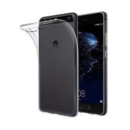 Wholesale Huawei Mate Tpu - 2017 Grad AAA Back Cover Case For Huawei P10 Plus P10 Lite P9Plus P9 P8 Lite Mate 9 Pro Soft Clear TPU Case