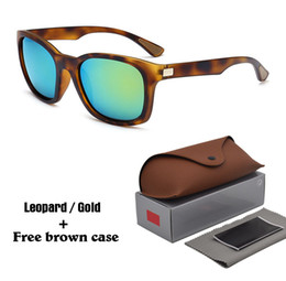shield leather Coupons - High quality Sunglasses men Women Brand Designer Plank frame Sun glasses Eyewear uv400 Lenses with Free Leather cases and box