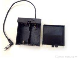 1.5V x 2 D Cajas de batería D Soporte de batería Caja cerrada Con interruptores y enchufes de cables DC5.5 * 2.1 desde fabricantes