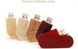 Wholesale 128gb Usb Stick China - New usb flash drives Wooden stick Pendrive 8GB USB 2.0 Memory stick USB Falsh Memory 4GB 16GB 32GB 64GB 128GB for Wedding gift