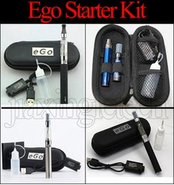 Wholesale Ego Ce4 Cases - Ego Ce4 Starter Kit Zipper Case Electronic Cigarette Blister kits 650mah 900mah 1100mah EGO-T battery Ce4 Atomizer Vape pen e cig kit