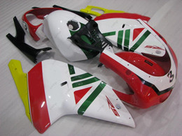 Wholesale 125 Fairing - Bodywork RS 125 01 00 Fairing Kits RS125 04 05 White Red Body Kits for Aprilia RS125 02 03 2000 - 2005