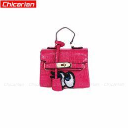 Wholesale New Stylish Girls - Chicarian Designer Kid Handbag New Cartoon style Kids Girl messenger bags Stylish Baby Tote Bag Kid Grils Shoulder Bag Christmas Gift CA022