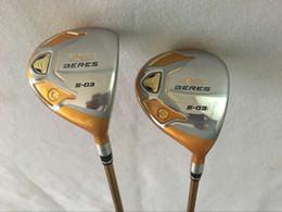 Wholesale Beres Golf - Golf clubs 4Star Honma Beres S-03 Fairway woods 3# 5# regular Flex Graphite shaft 2PCS s03 Golf Woods Right hand
