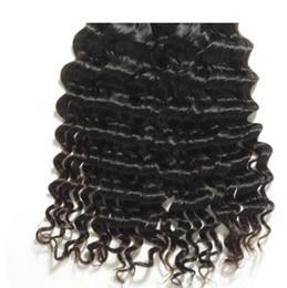 Wholesale Wavy Hair Extension Long - Wholesale deep wave virgin brazilian hair unprocessed virgin deep wavy hair natural color hair extensions maintain style long time