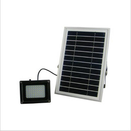 N500C 6 V 6 W Panel Solar 54 SMD3528 LED IP65 Impermeable Jardín al aire libre Calle Solar LED Proyector Lámpara de Proyector desde fabricantes