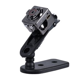 polizeikörper kameras Rabatt einteilige SQ8 Mini DV DVR Cam Tragbare Audio-Videokamera mit Motion Sensor IR Nachtsicht Camcorder SQ11 SQ10 SQ9 Dropshipping