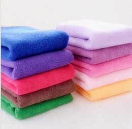 Wholesale Microfiber Wash Car - 30*30cm car wash towels microfiber towel superfine fiber towel multifunctional kitchen cleaning water absorbent towes car cleaning toolsl