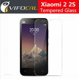 Wholesale Mi 2s Phone - Wholesale-For Xiaomi Mi2 Tempered Glass 9H 2.5D High Quality Screen Protector Film Accessory For Xiaomi Mi 2S Mi2S Cell Phone