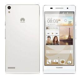 Wholesale Original Huawei Ascend P6 - Original Huawei Ascend P6 Smart Phone 8GB ROM 2GB RAM Quad Core 4.7inch 8.0MP Hisilicon K3V2E 1.5GHz Android Phone