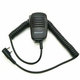 Wholesale Wouxun Mic - Wholesale- OPPXUN Walkie Talkie PTT Speaker Mic Microphone For TK2107 TK3107 TK278 BAOFENG UV-5R UV-82 Puxing PX-888K Wouxun KG-UVD1P TYT