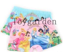 Wholesale Girl Boxers - New Lot 10 pcs princess Children girl cotton underwear Boxer shorts kids gifts