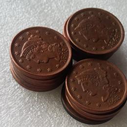 Conjunto completo de monedas de EE. UU. (1839-1852) 14pcs Cabello trenzado Centavos grandes 100% Monedas de cobre Promoción Precio de fábrica barato accesorios para el hogar agradable desde fabricantes