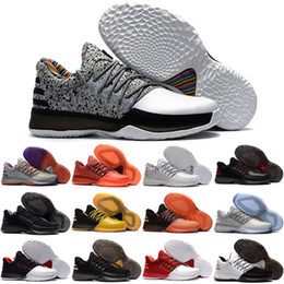 Wholesale Bhm Shoes - Free Shipping 2017 Men's Harden Vol 1 BHM Black History Month Basketball Shoes harden bhm Sneakers for sale Size 40-46
