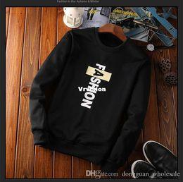 Wholesale Cheap Brand Hoodies - cheap price good quality new 2017 winter style warm thick men Hoodies & Sweatshirts fashion brand O-Neck print slim casual Sweatshirts for m