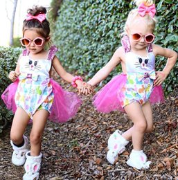 Wholesale Cheap Dress Jeans - Cheap baby fashion party dress skirt 2017 female BB Summer conjoined jeans children cartoon bow cotton clothes in stock 8set S2