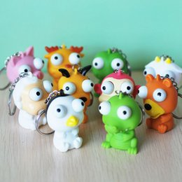 Wholesale Pop Eyes Animal Toy - Funny Cartoon Animal Small Squeeze Antistress Toy Pop Out Eyes Doll Stress Relief Venting Joking Decompression Toy