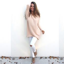 Wholesale Ladies Waistcoats Wholesale - Wholesale- Wool Vest Waistcoat Jacket Casual Loose Tops Sweater Bottoming Autumn Women Sweaters Knit Pullovers Ladies Long Sleeve Sweater