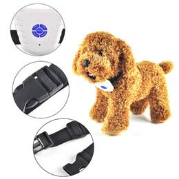 Wholesale Ultrasonic Dog Bark Stopper - Hot Anti Bark Stop Dog trainingspak Collars Ultrasonic Safe Leashes Electronic Pet Barking Stopper Training Shock Control 0704036