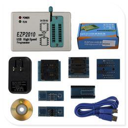 Wholesale Usb Spi Bios Programmer - Full Set EZP2010 Plus 6 Adapters Updated EZP 2010 25T80 BIOS High Speed USB SPI Programmer