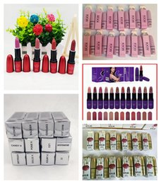 Wholesale Full Fashion Stockings - IN STOCK!! HOT Selena Collection MATTE LIPSTICK Fashion Makeup Waterproof Beautiful kylie Cosmetics 12 Color Free Shipping 12Pcs