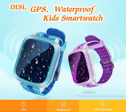 Wholesale Iso Card - DS18 Kids Smart Watch PK Relogio Diesel Q90 Q80 GPS WiFi Locator Tracker For Kid SOS Call SMS Support SIM Card Smartwatch For iSO Android 30