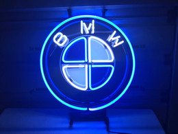 Tiendas alemanas online-German Auto Car Neon Light Sign Real Glass Beer Bar Pub Tienda Distribuidor 17x14 ""