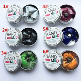 Wholesale Diy Toys For Kids - 6 Colors Magnetic Rubber Mud Handgum Hand Gum Silly Putty Light Clay Plasticine Ferrofluid Slime DIY Toy for Kids Play Dough