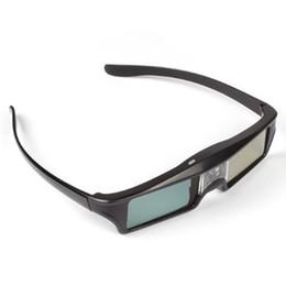 persiana do projetor 3d Desconto Venda por atacado - Top Ofertas KX-30 mais nova versão 3D 96-144Hz Active Shutter Glasses para DLP-Link 3D Ready Projetores