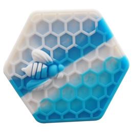 fishbone rda vidro Desconto Recipientes de cera antiaderente caixa de silicone 26 ml silício contêiner frascos de grau alimentício dab ferramenta de armazenamento jar titular de óleo para vaporizador vape aprovado pela FDA