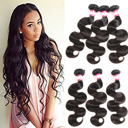 Wholesale Pretty Virgins - Hot Sale! Malaysian Virgin Hair Body Wave 3 4pcs Fair Great 8A Unprocessed Human Hair Weaves Pretty coco Hair Extensions 8-26inch Dyeable