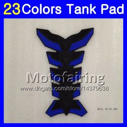 Wholesale Cbr Mc19 - 23Colors 3D Carbon Fiber Gas Tank Pad Protector For HONDA CBR250RR 88 89 MC19 CBR250 RR CBR 250RR CBR 250 RR 1988 1989 3D Tank Cap Sticker