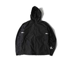 Wholesale Wind Windbreaker Jacket - dongguan_wholesale in stock new design black Hoodie coat windbreaker jackets Harajuku wind jacket 2017 men wind coat