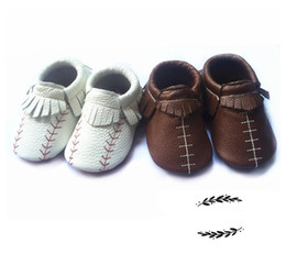 Wholesale Winter Shoes For Kids Boys - boys moccs shoes baby product football shoes baseball shoes moccasins for kid for baby infant booties