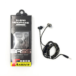 Wholesale Beating Headphones - In-Ear Earphone Headset Stereo and Remote Beat Sound Quality Headphone for Apple iPhone 6s Samsung Note 8 Huawei Xiaomi HTC Headphone