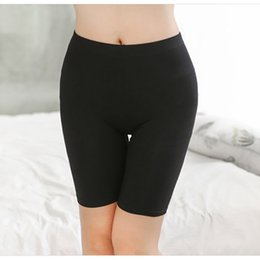 Wholesale Lightweight Skirts - Wholesale- Hot Salel Ladies Knee-Length Short Leggings Under Skirts, Comfortable Lightweight Bamboo Underpants for Summer