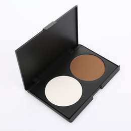 Wholesale Purchase Types - NO logo 2 color concealer palette with logo factory supplier cheap choice for makeup purchase accept print your logo OEM order