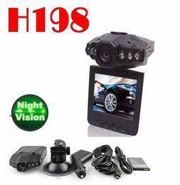 Canada 6 IR LED 2.5 '' Voiture Dash cams Voiture DVR enregistreur caméra système boîte noire H198 version de nuit Vidéo Enregistreur dash caméra Offre