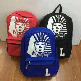 Wholesale Top Korean Backpack - Wholesale- Top Quality printing backpack school bags women men korean last kings bag for teenagers laptop wholesale free shipping
