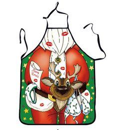 2019 tabliers drôles de cadeau de noël 54 * 72cm Décorations De Noël Tabliers Père Noël Sexy Girl Tabliers Party Funny Tabliers Cadeaux De Noël 3 Style Choisissez promotion tabliers drôles de cadeau de noël