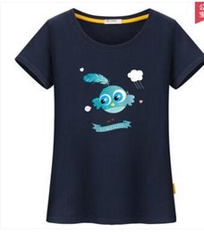 Wholesale Women Blouse Cartoon - Top Seller pure cotton short-sleeved T-shirt for women's Korean edition is a printed cartoon that will fit the leisure student's blouse