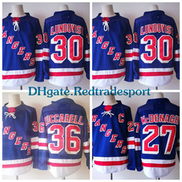 Wholesale Rick Nash Rangers - 2018 AD New York Rangers 30 Henrik Lundqvist 36 Mats Zuccarello 27 Ryan McDonagh 20 Chris Kreider Rick Nash Kevin Shattenkirk Hockey Jerseys