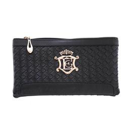 Wholesale Fashon Bags - Wholesale- JECKSION 2016 New Women Handbag Fashon Weave Pattern Wallet Shoulder Messenger Bags Cheap Zipper Bag #LSN
