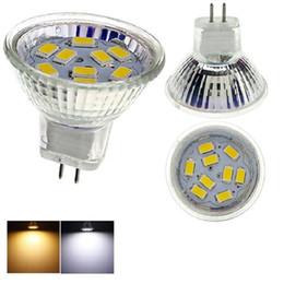 Wholesale Mr16 Mr11 - New Style Warm Cool White Led spotlight 4W MR11 AC DC12V LED Lighting Bulbs 5730 SMD LED Bulbs for Living Room