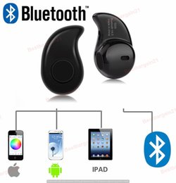 Wholesale Earpiece Earphone Hidden - 2017 Best Selling S530 Mini Wireless Bluetooth 4.1 Stereo Headset Earphone Earpiece For Phone With Mic Ultra-small Hidden With box