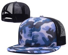 Wholesale Blank Floral Snapback Hat - 2017 New fashion blank cap Camouflage transparent brim Mesh baseball snapback caps hats for men women sports hip hop Casquette bone sun hat