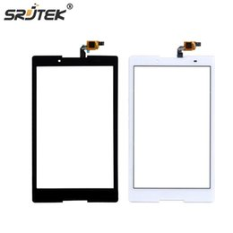 Wholesale lenovo glass screen replacement - Wholesale- Srjtek For Lenovo Tab3 Tab 3 8 850 TB3-850 TB3-850F TB3-850M Touch Panel Touch Screen Digitizer Glass Sensor Replacement