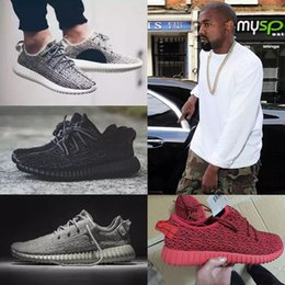 Wholesale Lace Cut Out Oxfords - 2017 boost 350 pirate black turtle dove moonrock oxford Tan Cheap Discount Men Womens Running Shoes kanye west 350 Boost season With Box