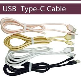 Универсальный Плетеный 1M 3FT 2M Micro USB Weave Data Cable Fabric 3M Type-C Зарядный шнур Провод для зарядки для мобильных телефонов Samsung Android от Поставщики сотовые телефоны